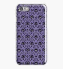 Haunted Mansion Wallpaper (Tile) iPhone Case/Skin