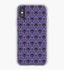 Haunted Mansion Wallpaper (Tile) iPhone Case