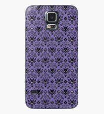 Haunted Mansion Hintergrundbild (Fliese) Hülle & Klebefolie für Samsung Galaxy