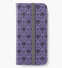 Haunted Mansion Wallpaper (Tile) iPhone Wallet/Case/Skin