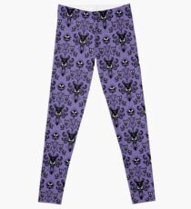 Haunted Mansion Wallpaper (Tile) Leggings