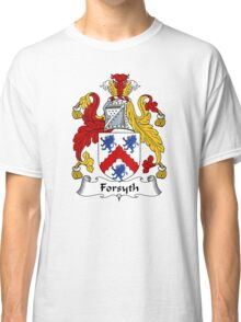 Forsyth Coat of Arms / Forsyth Family Crest Classic T-Shirt
