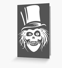 HATBOX GHOST Greeting Card