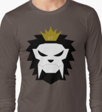 Sabre-toothed King Lion Skull - MulloIV Long Sleeve T-Shirt