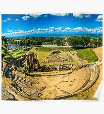 archaeological excavations Poster