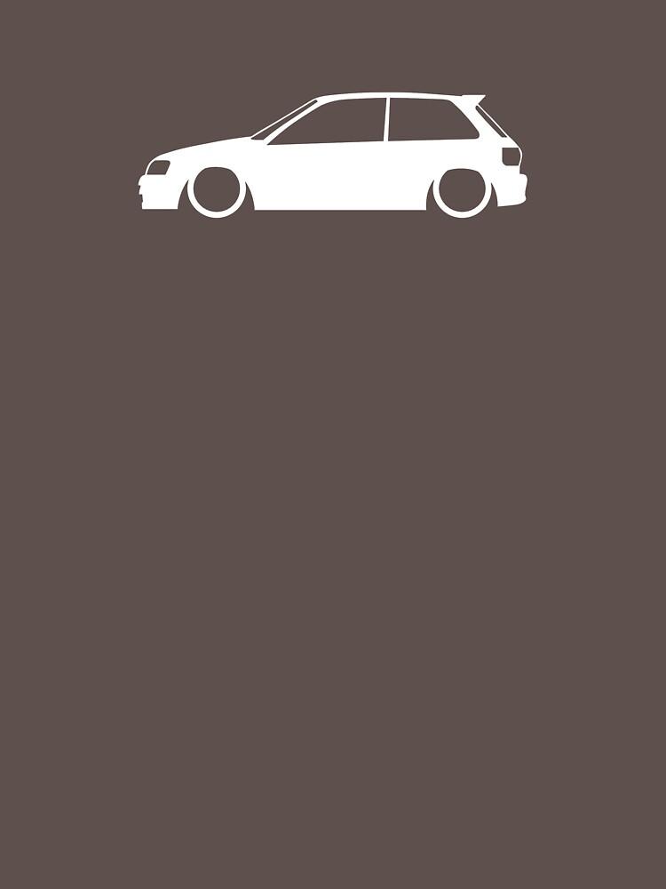EP82 JDM Turbo Hatch by carsaddiction