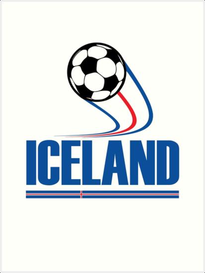 54479672601 ICELAND Soccer T-shirt Icelandic Football Team Jersey