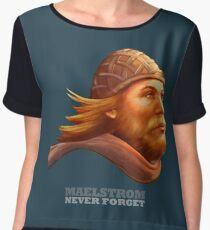 Maelstrom - Never Forget - Viking Women's Chiffon Top