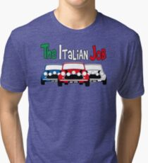Italian Job Mini Tri-blend T-Shirt