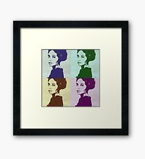 pop art  Framed Print