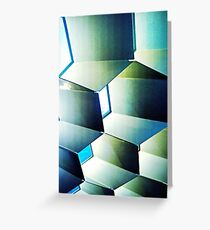 Fed Square Abstract Greeting Card