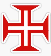 Portugal Templar Sticker