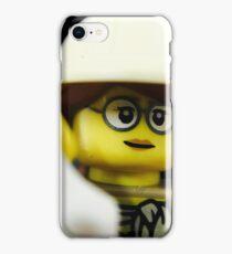 Lego Paleontologist iPhone Case/Skin