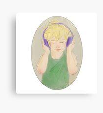 Headphone Ven Canvas Print