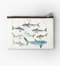 Sharks - Landscape Format Studio Pouch