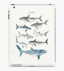 Sharks - Landscape Format iPad Case/Skin