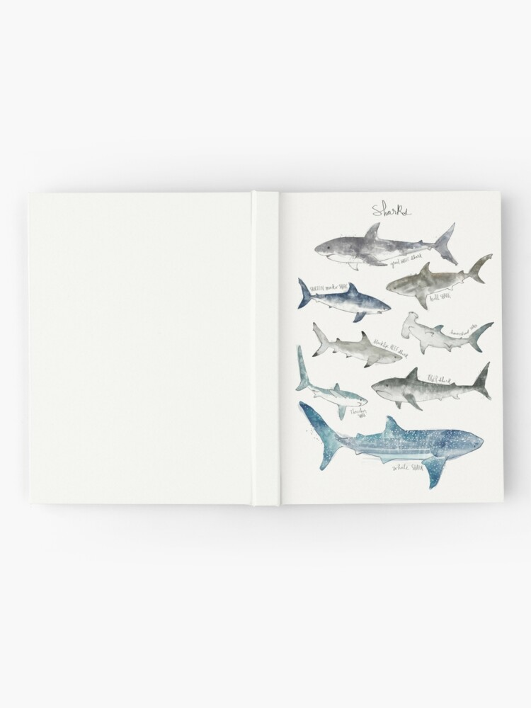 Alternate view of Sharks - Landscape Format Hardcover Journal