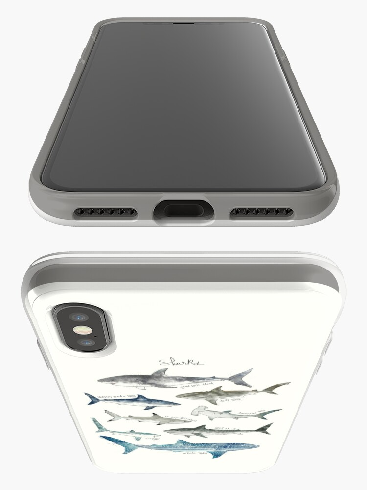 Alternate view of Sharks - Landscape Format iPhone Case & Cover