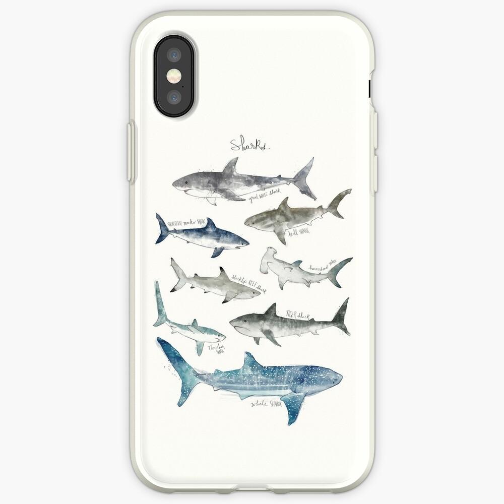 Sharks - Landscape Format iPhone Case & Cover