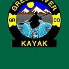 KAYAK GREEN RIVER COLORADO KAYAKING WHITEWATER CANOE CANOEING by MyHandmadeSigns