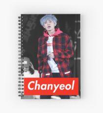 Chanyeol Spiral Notebook