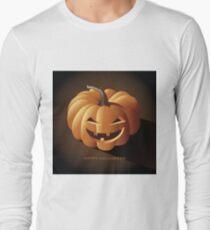 Happy halloween jack o lantern Long Sleeve T-Shirt