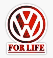 VW for life Sticker