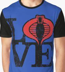 LOVE COBRA Graphic T-Shirt