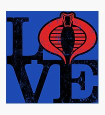 LOVE COBRA Photographic Print