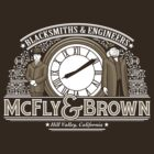 McFly & Brown Blacksmiths by DoodleDojo