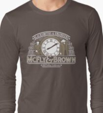 McFly & Brown Blacksmiths Long Sleeve T-Shirt