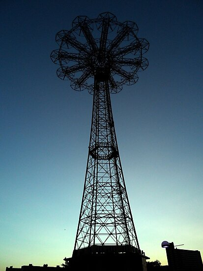 Parachute Drop - Coney Island by Amanda Vontobel Photography/Random Fandom Stuff