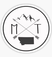 Montana is best - Version 1 Sticker