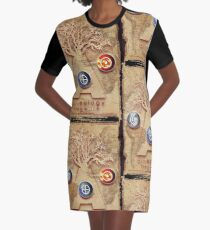 arteology universe Graphic T-Shirt Dress