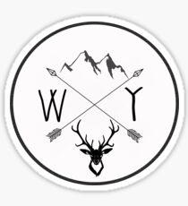 Wyoming is best - Version 1 Sticker