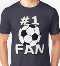 Number One Soccer Fan Unisex T-Shirt