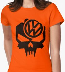 VW till death Womens Fitted T-Shirt