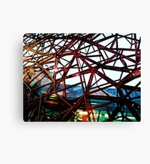 Fed Square Abstract 3 Canvas Print
