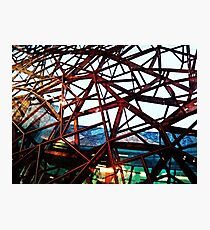 Fed Square Abstract 3 Photographic Print