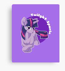 Twilight Sparkle Canvas Print