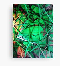 Fed Square Abstract 4 Canvas Print