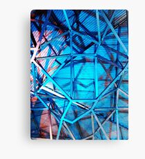 Fed Square Abstract 5 Canvas Print