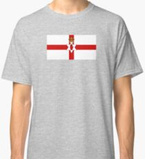 Ulster Banner Flag of Northern Ireland, 1953-1972 Classic T-Shirt