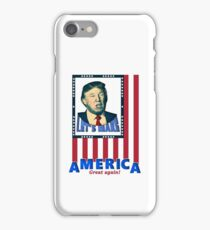 Donald Trump US Election iPhone Case/Skin