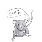 Shit Mouse by burritomadness