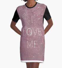 I love me Graphic T-Shirt Dress