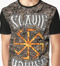 "Slavic Power Kolovrat Symbol ""Little Sun"" Graphic T-Shirt"