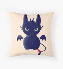 Night Fury Throw Pillow