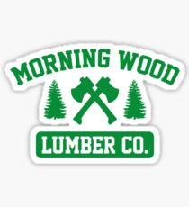 Morning Wood Lumber Co. Sticker
