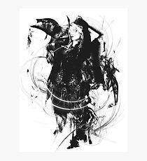 Liliana Vess in Black Photographic Print